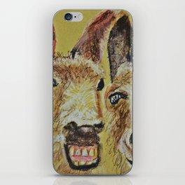 2 Donkeys iPhone Skin