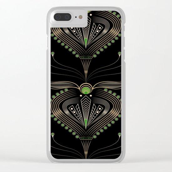 Art Deco . Aphrodite . Clear iPhone Case