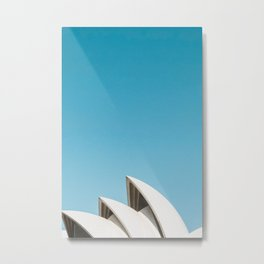 Sydney Opera House | Australia Minimalist Travel Photography Metal Print