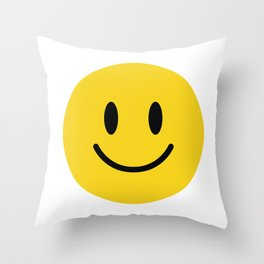 Smile Zone II Throw Pillow