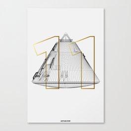 APOLLO 11 LANDING MODULE Canvas Print