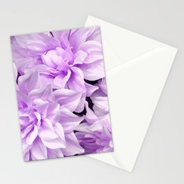 Lucious Lilac Flowers Close-Up Art Photo Stationery Cards