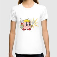 kirby T-shirts featuring Valkyrie Kirby by Mel W.