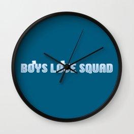 BOYS LOVE SQUAD Wall Clock