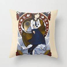 Lamb of Columbia Throw Pillow