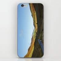 cassia beck iPhone & iPod Skins featuring Views from Keskadale and Keskdale Beck back down the Pass. Lake District, UK. by liamgrantfoto