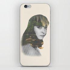 Anna Karina Nature Portrait iPhone & iPod Skin