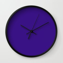 Pixie Powder - solid color Wall Clock