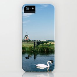 A Beautiful Dutch Scene iPhone Case