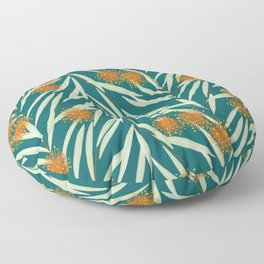 Pom Pom Flowers Floor Pillow