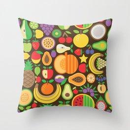 Fruit Patten Throw Pillow
