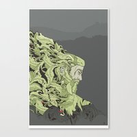 kodama Canvas Prints featuring KODAMA by Ron Gervais