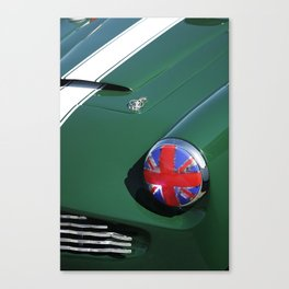 Union Jack Headlight Canvas Print