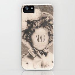MAD iPhone Case