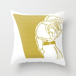 SFV NASH Throw Pillow