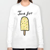 popsicle Long Sleeve T-shirts featuring Popsicle by Ena Jurov