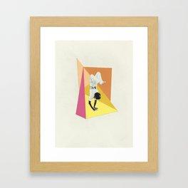 Balance Vs Strength Framed Art Print