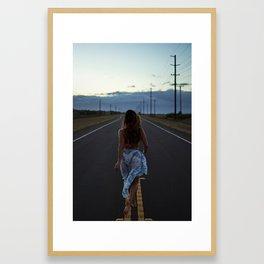 Just walk it off Framed Art Print
