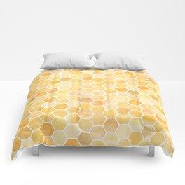 Honeycomb Pattern Comforters