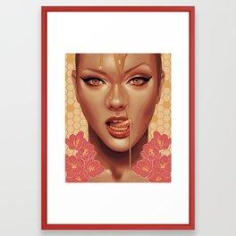 Sweet Like Honey Framed Art Print