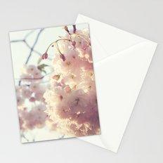 sunlit cherryflowers Stationery Cards