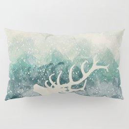 Oh Deer Green Pillow Sham