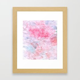 More Clouds Framed Art Print