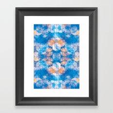 Cuben Kaleidoscope Framed Art Print