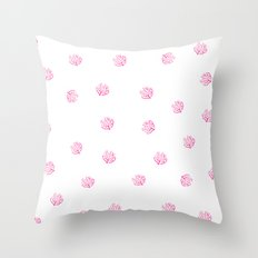 SUMMER 2017 - CORAL PATTERN 2 Throw Pillow