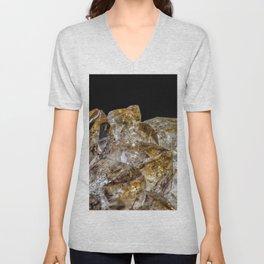 Citrine Crystals Unisex V-Neck