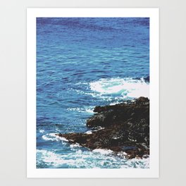 Rocky Shoreline Art Print