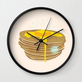 Flapjack Frenzy Wall Clock