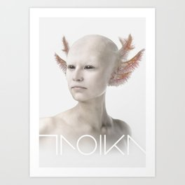Troika zero-one Art Print