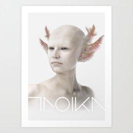 Troika zero-one Art Print