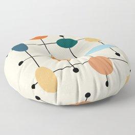 Mid-Century Modern Ovals #society6 #buyart Floor Pillow