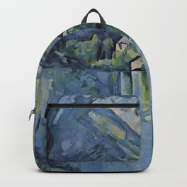 """Paul Cezanne """"The Lac d'Annecy"""", 1896 Backpack"""