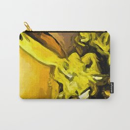 Flowers of Yellow 1 Carry-All Pouch
