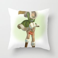 Pin up Throw Pillow