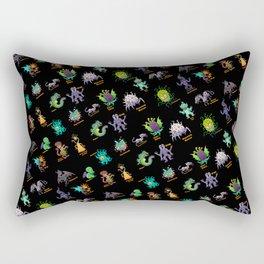 Lovecraft Bestiary Chibi 1 Rectangular Pillow
