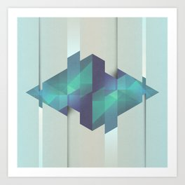 Gem Abstract Art Print