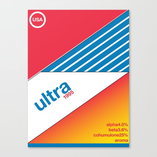 ultra//single hop Canvas Print