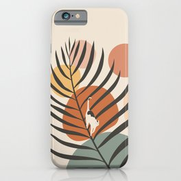 Cat and Plant 32 iPhone Case