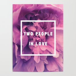 Two People In Love Poster