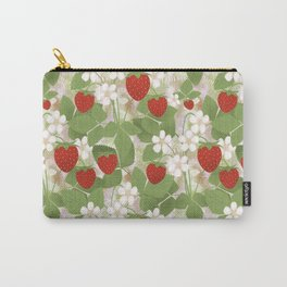 Strawberry. Carry-All Pouch