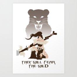 LoL - Nidalee,  The Bestial Huntress Art Print