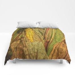 The last ear of corn Comforters