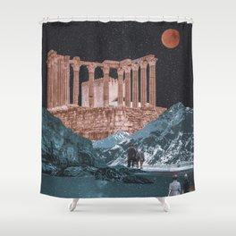 A trip Shower Curtain