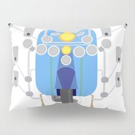 Mod scooter Pillow Sham