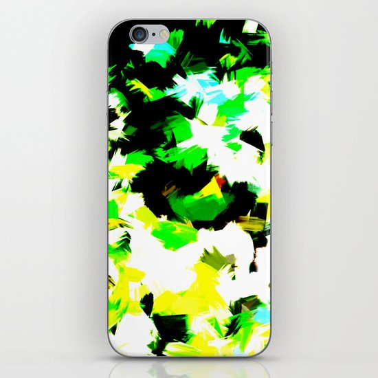 BLOSSOMS - COLORS iPhone & iPod Skin