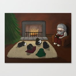Storytime, (The Unexpected Adventures: Christmas Edition) Canvas Print